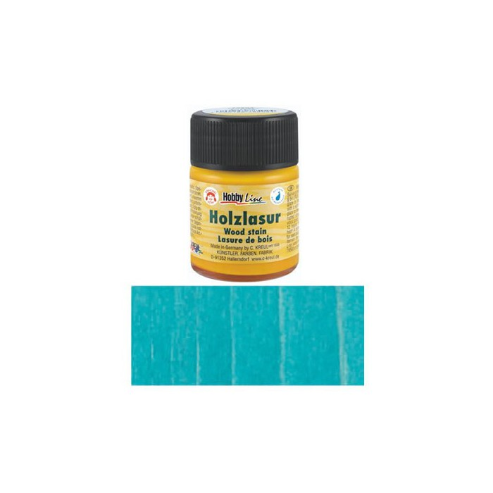 Wood Stain, 50ml, turquese