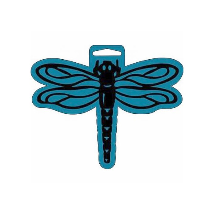 Big Foam Stamp, dragonfly  17x14cm