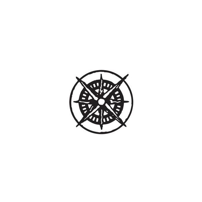 Tim Holtz - Mini mask compass