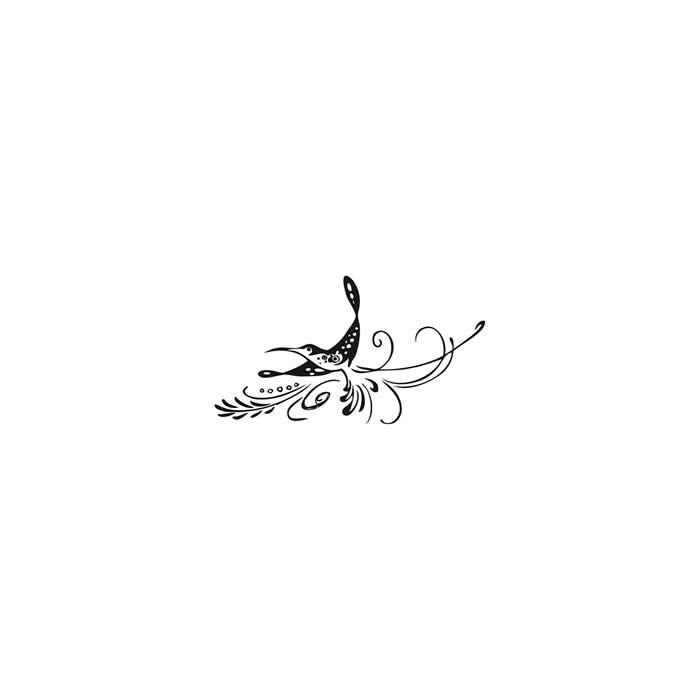 Clear stamp - Humming bird 65mm