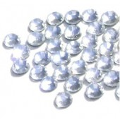 Strass ronds 5mm, cristal, 150 pcs