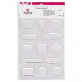 Stickers résine epoxy transparents