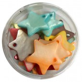 Mother-of-pearl pendants star 18mm, mix