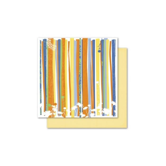 Paper Mango - Garden Stripes