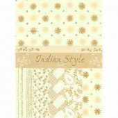 Indian Style Tariq Assortiment, 5 sheets