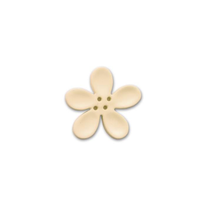 Orchid button 30mm, vanilla