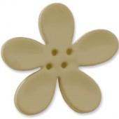 Bouton orchidée 40mm, sauge