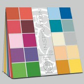 Ursus Struktura Basic 2 - Cardstock assortment, 25 sheets