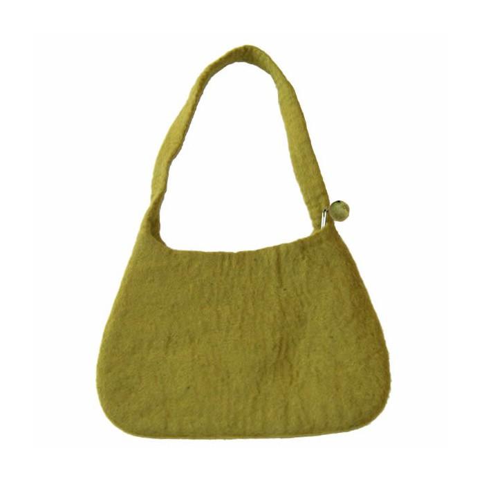 Felt Handbag, olive
