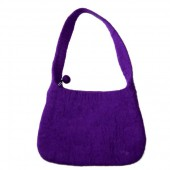Felt Handbag, purple