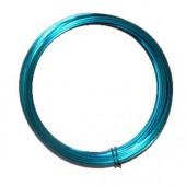 Fil aluminium Ø 2mm/2m, turquoise
