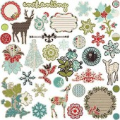 Prima - Chipboard Stickers North Country