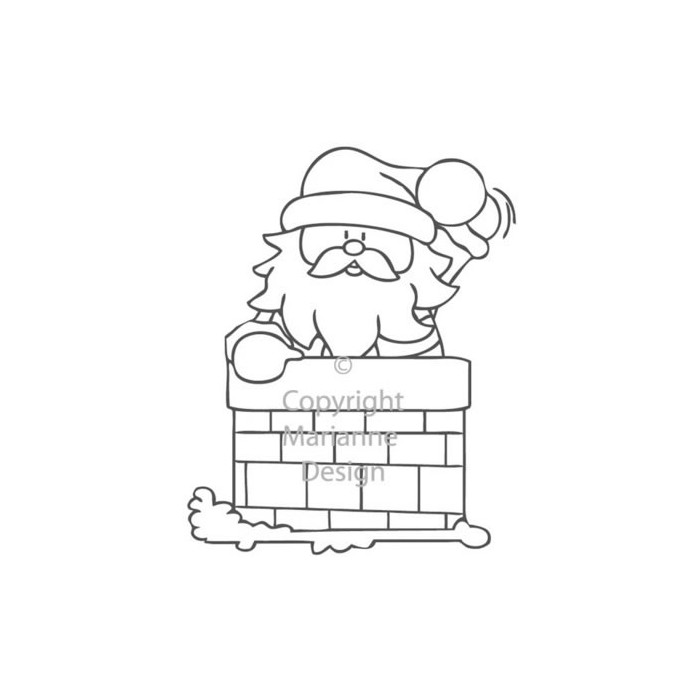Clear stamp, chimney