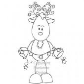 Tampon en silicone, reindeer