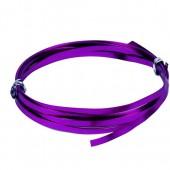Fil aluminium plat 1.2x4mm, 2m, violet