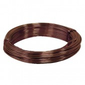 Alu wire, Ø 2mm/2m, brown