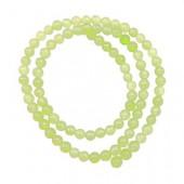 Jade vert clair, Ø6mm, 30 pcs