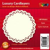 Fonds décoratifs pour cartes, classique, 3 pcs