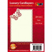 Luxury Cardlayers, Butterfly, 3 pcs