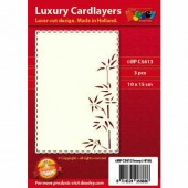 Luxury Cardlayers, Bamboo, 3 pcs