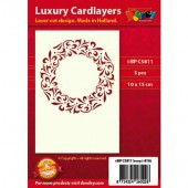 Luxury Cardlayers, Art Deco, 3 pcs