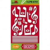 Lomiac - Pre-Cut Paper Music