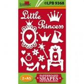 Lomiac - Papier prédécoupé Princesse