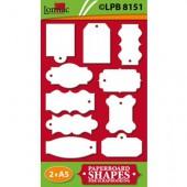 Lomiac - Pre-Cut Paper Tags