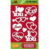Lomiac - Pre-Cut Paper Love