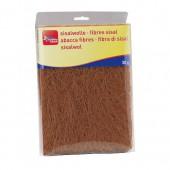 Fibres sisal, brun foncé