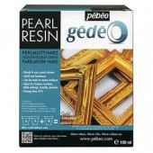 Pearl resin Gédéo, gold