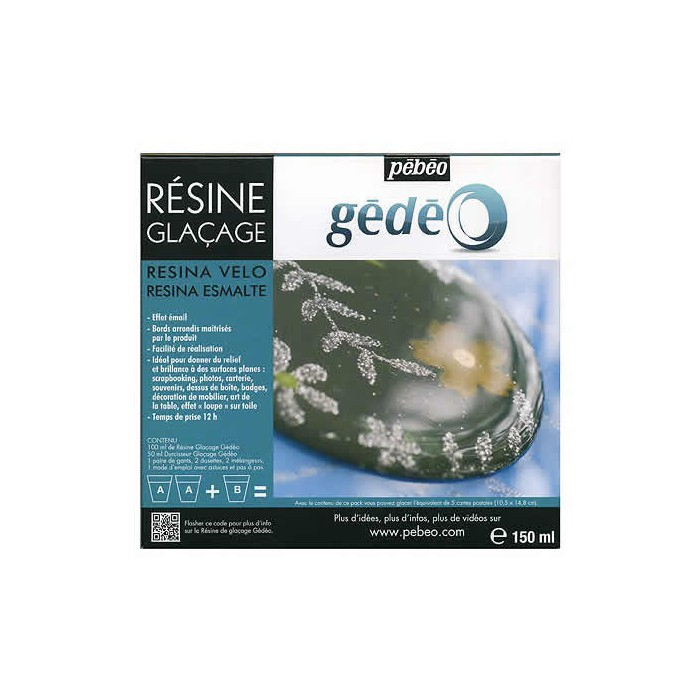 Glazing resin Gédéo, 150ml