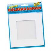 Cadre passe-partout carton blanc 166x166mm