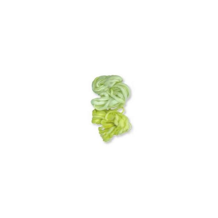 Fleece cord, 2x10m, light green
