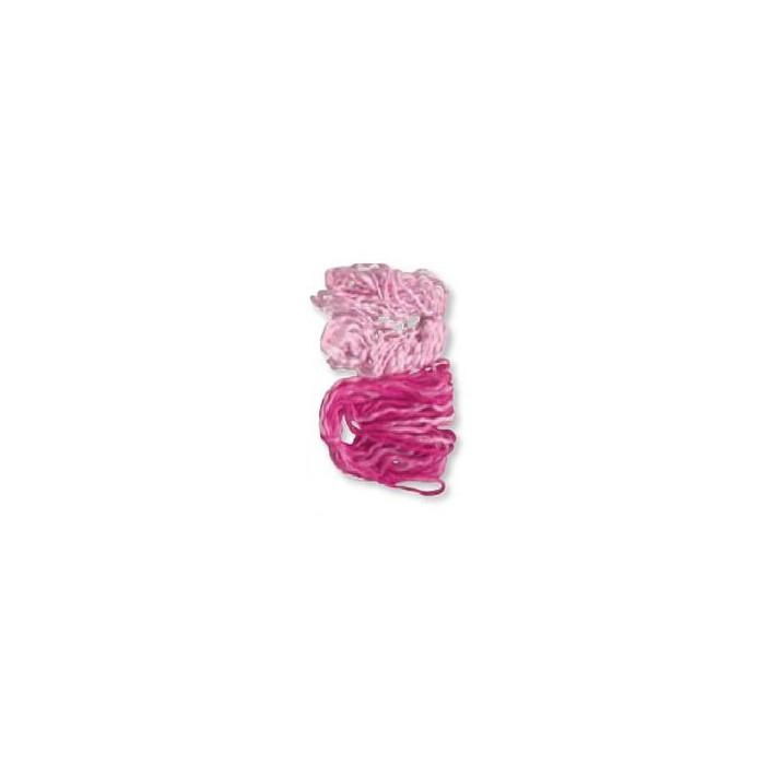 Fleece cord, 2x10m, rose
