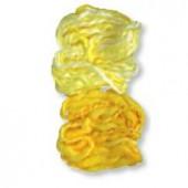 Cordon duveté, 2x10m, jaune