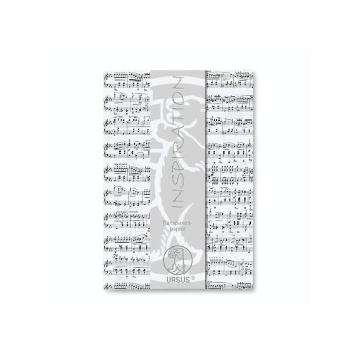 """Transparent paper """"Music"""""""