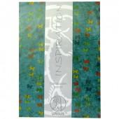 "Papier transparent ""Paradiso"" turquoise"