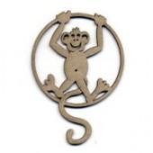 Monkey 9x6cm