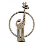 Giraffe 10x6cm