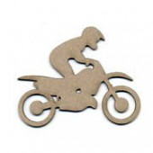 Moto-X rider, 8.5x6.5cm