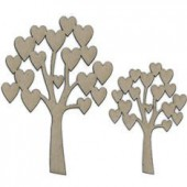 Whimsy Tree, 2 pcs, 8.5-12cm