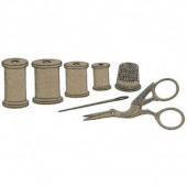 Sewing kit, 7 pcs, 1.5-8.5cm