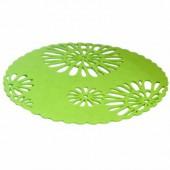 Set de table en feutre vert, 30cm