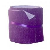 Feutrine bicolore, violet/lilas, 15x50cm