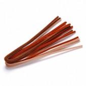 Chenilles (cure-pipe), 10 pièces, mix brun