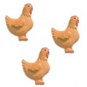 Hen, 20mm, 9 pcs