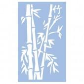Stencil Bamboo 40x66cm