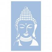 Stencil Buddha 40x66cm