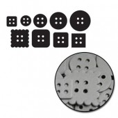 Maya Road - Chipboard Set Mini Buttons